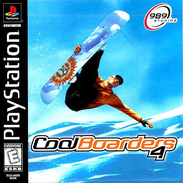 Cool Boarders 4 [U] Front Cover